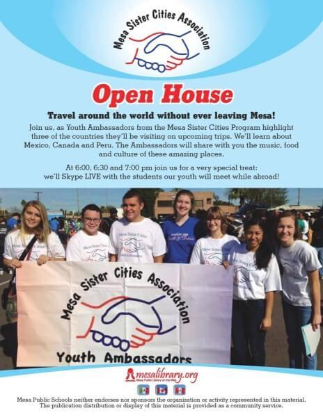 Mesa Arizona Sister Cities Program