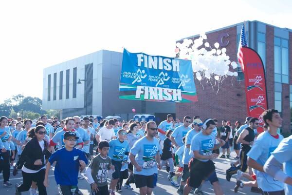 Team Palestine supports local Marathons in Illinois to benefit the Palestine Children's Relief Fund