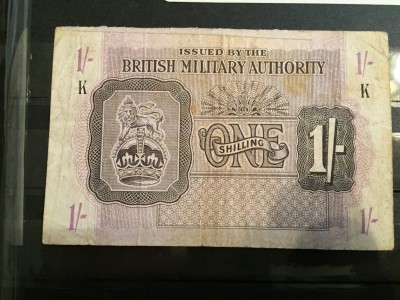 British Mandate paper money used during the occupation of Palestine through 1948. Copyright (C) Ray Hanania 2015 All Rights Reserved.