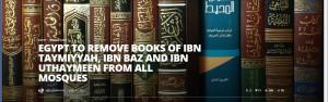 Egypt bans Ibn Taymmiyah's books