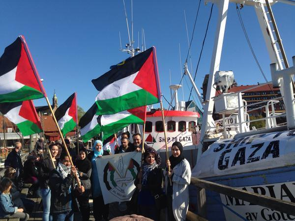 USS Liberty Survivor Onboard with FREEDOM Flotilla