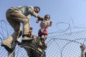 Syrian refugees seek refuge in Turkey