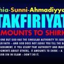 Shia and Sunni Takfiriyat