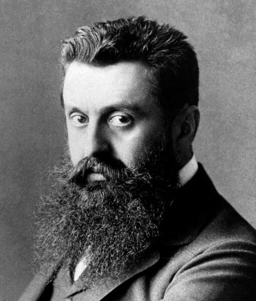Zionist leader Theodor Herzl Source: http://ww...