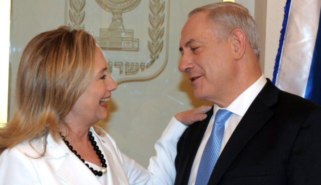 Hillary Clinton for President United States of Zionism