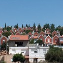 Illegal Israeli settlement of Ariel, a hotbed of fanaticism and hate. The land was taken from Christians and Muslims who owned land and homes and was used to build homes and farms for Jews only in the Israeli occupied territories. Photo courtesy of Maan News