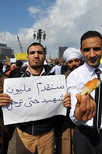 The messages on Tahrir Square