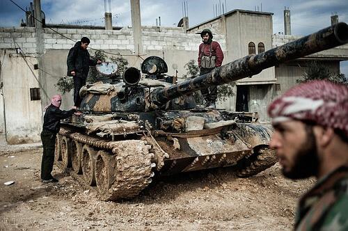 Syria fighting photo
