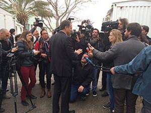 SodaStream press conference