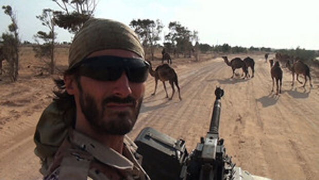 American man joins Libyan revolution in 'Point and Shoot'