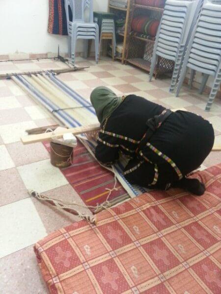Palestinian women int he West Bank