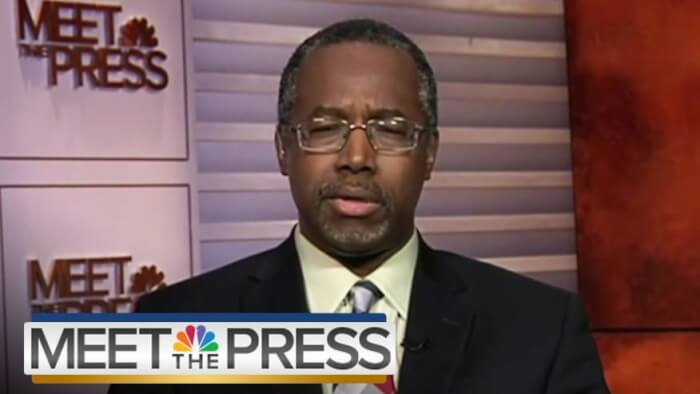 Dr. Ben Carson out-trumps Trump in Attitude