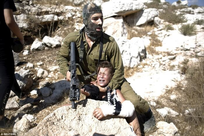The violence by Israel's soldiers and settler terrorists