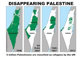 Disappearing Palestine 1946-2012