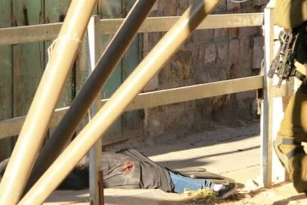 Hadeel al-Hashlamoun was murdered by Israeli soldiers at point-blank range. Soldiers refused her any medical attention and she died of her wounds. Photo courtesy of Youth Against Settlements (YAS), Palestine