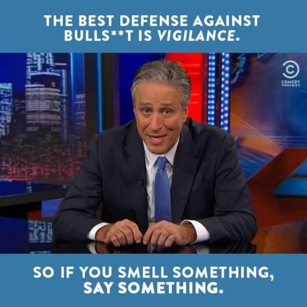Dear Stephen Colbert with Thanks to Jon Stewart