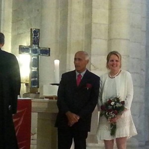 Mordechai Vanunu and Kristin Joachimsen, Lutheran Church of the Redeemer in the Old City