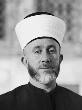 His Eminence the Grand Mufti of Jerusalem. Haj...