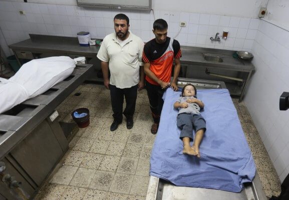 Israel targets and kills women & children in Gaza attacks