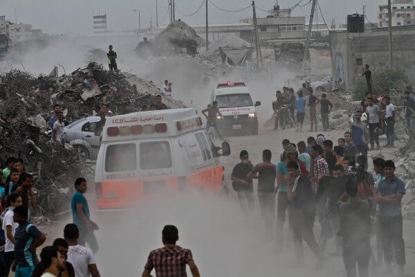 Israeli violence targets Palestinians in Gaza Strip Friday Oct. 23, 2015. Copyright (C) 2015 Mohammed Asad. All Rights Reserved