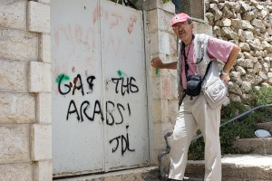 Christian Peacemaker Team member Jerry Levin in Hebron