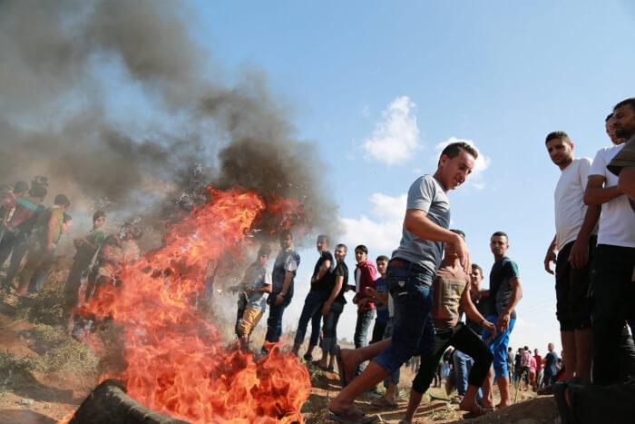 Israeli snipers kill 6 Palestinians in Gaza