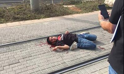 Ahmad Manasra left not he ground bleeding nearly to death and suffering as Israelis called for his death