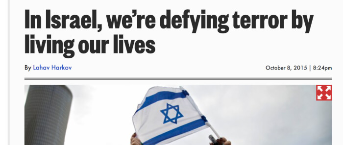 Jerusalem Post columnist twists the facts