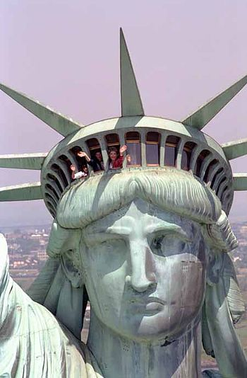 Original Statue of Liberty design was Arab woman