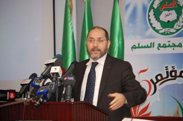 Abderezzak Mekari Pdt of the MSP