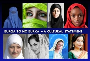 Different Forms of Burka