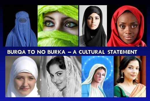 Trump is right; Burqa is matter of individual choice.