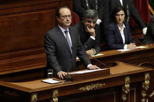Le Bâton de Guerre of President Hollande on Terror