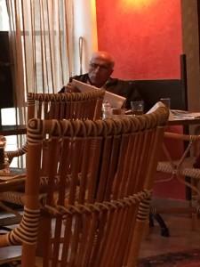 Oren Rosenfeld @NewsHolyland Mordechai Vanunu under house arrest in a Jerusalem Hotel, all he wants is to leave. https://twitter.com/NewsHolyland/status/663351182992240640