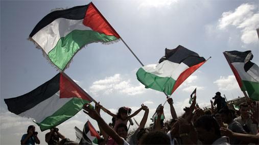 "Celebrating ""Palestine's Independence"" under occupation"