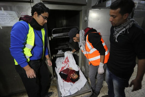 Palestinian killed by Israelis at Gaza border