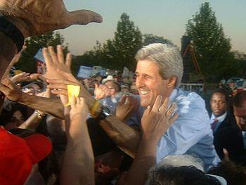 John Kerry in New Mexico