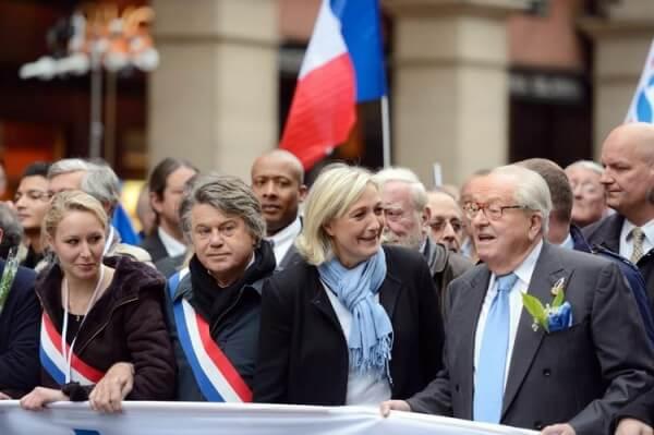 Marion Marechal LePen et Marine Le Pen