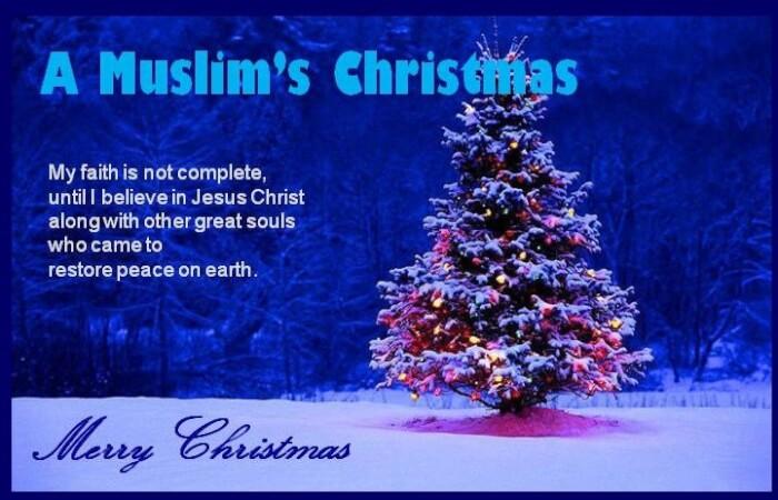 A Muslim's Christmas