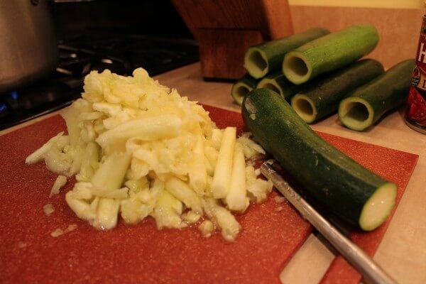 zucchini, Mediterranean recipe