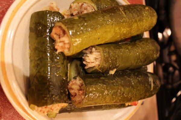 stuffed zucchini, koosa, Mediterranean recipe