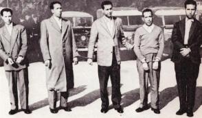 Algerian liberation war hero and son, Dr. Hocine Aït Ahmed, affectionately called Da al-Hocine