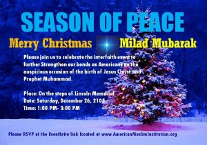 Christmas and Milad together