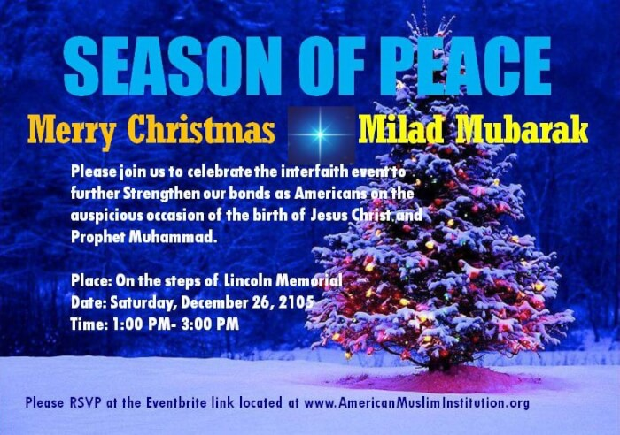 The Arab Daily News | Christmas and Milad-un-Nabi celebrated