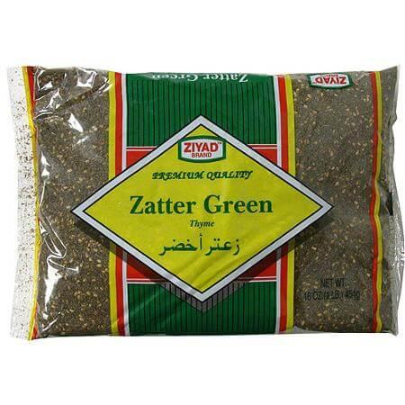 Popular Ziyad Brand Zatter Green (Za'atar)