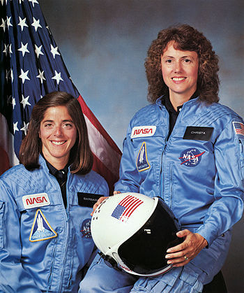 Christa McAuliffe, an American Arab in shuttle disaster