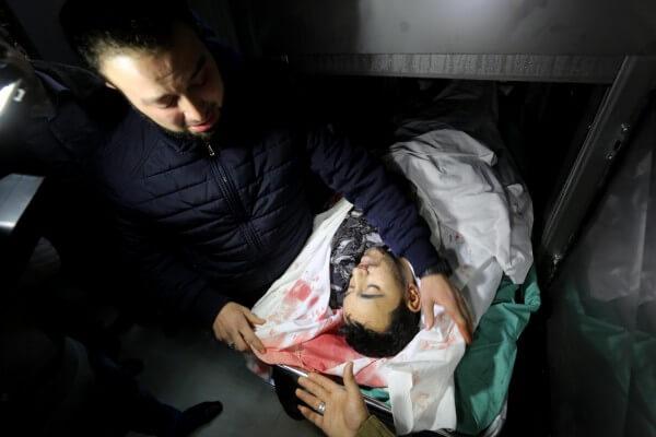 Israeli terrorists kill civilians in Gaza Strip