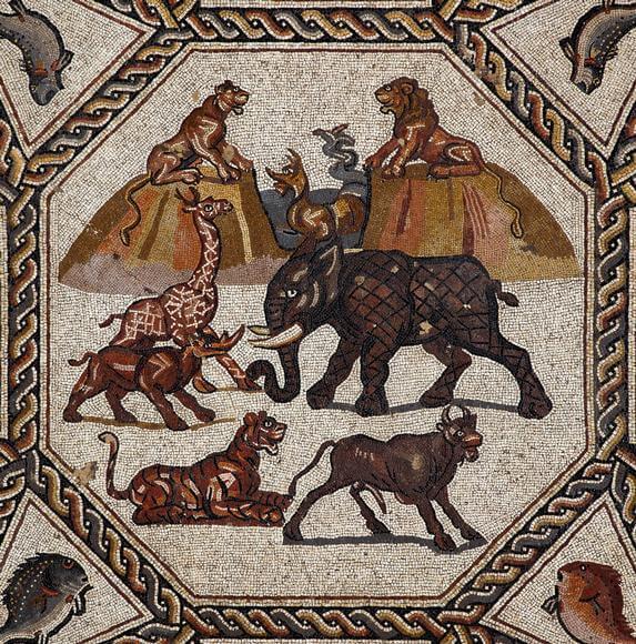 Lydda Roman mosaic showcased in Miami