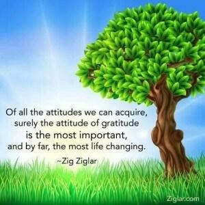 Gratitude, Zig Ziglar