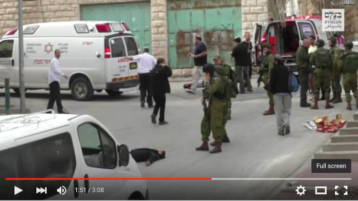 Videographer of soldier killing wounded Palestinian threatened with death